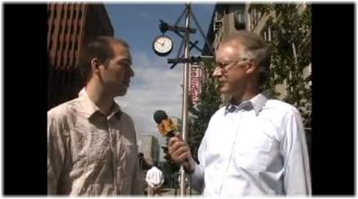Clock Walk interview on Perils for Pedestrians